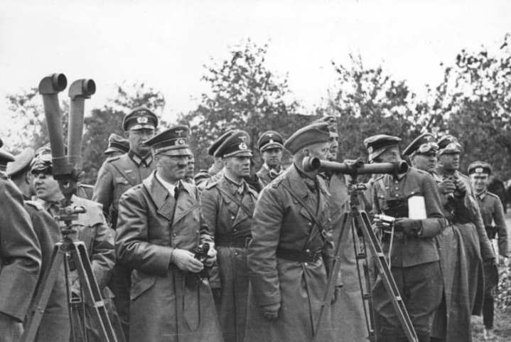 Hitler and his generals, 1939