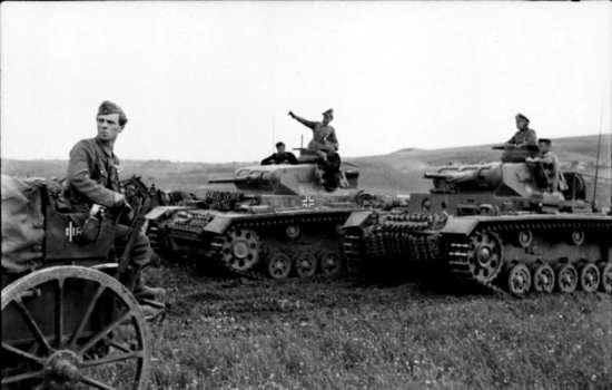 Panzer IIIs
