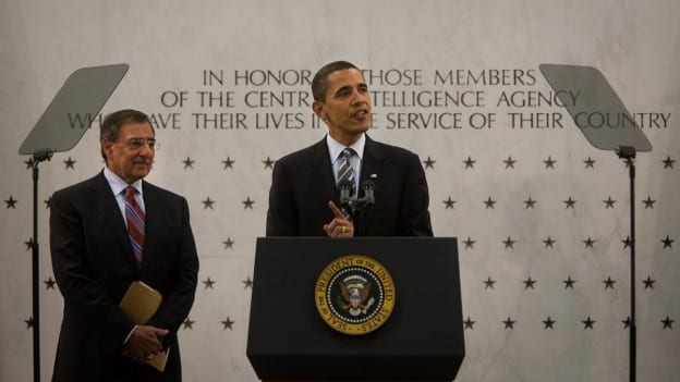Barack Obama and Leon Panetta