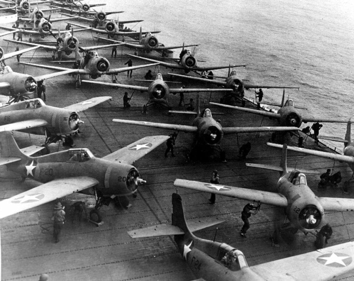 Hornet air group morning 6/4/42
