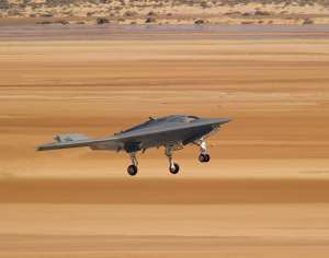 X-47B UCAS-D second flight