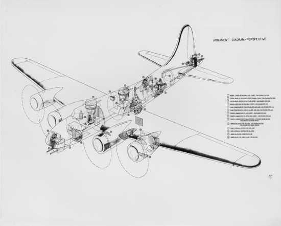 YB-40 diagram