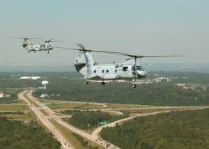 CH-46D Sea Knight helicopters HC-8  SH-60 Seahawk