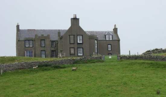 Lunna House, Shetland Islands