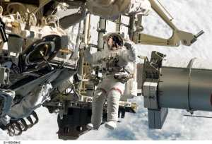 EVA STS-115 Solar Alpha Rotary Joint