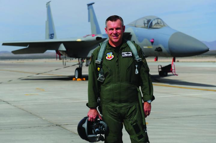 "Col. Robert ""Shark"" Garland, Commandant, USAF Weapons School"
