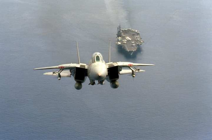 Tomcat Launches from America