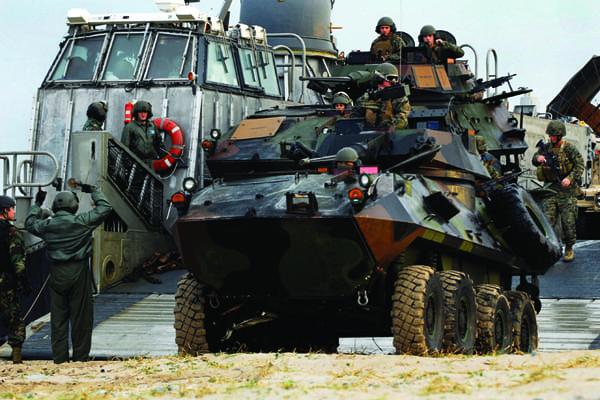 Harpers Ferry 31st MEU Korean Integrated Training Program 2010