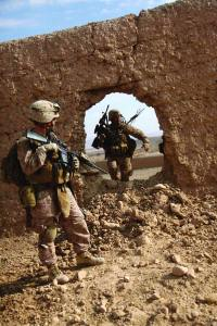 Enduring Freedom patrol Sangin district Afghanistan Jan. 13, 2011