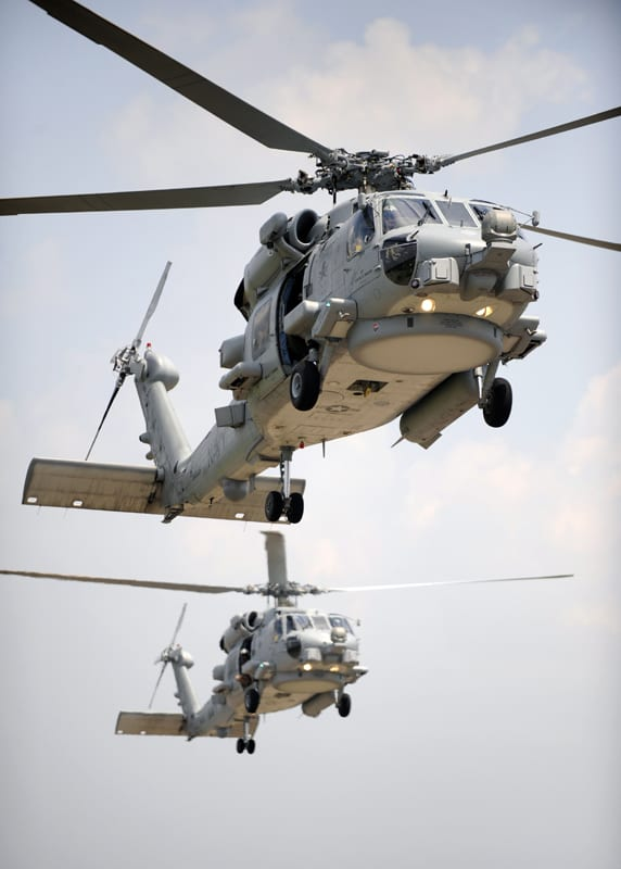 MH-60R Sea Hawk helicopters