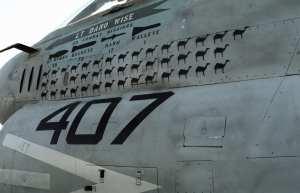 A-7E Corsair mission marks