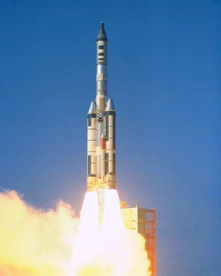 MOL test launch