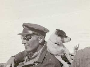 Paddy Mayne and friend
