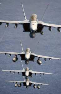 Super Hornet stack