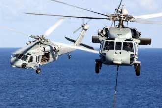 MH-60S Knighthawks