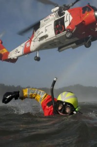 Air Station Astoria rescue swimmer