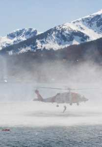 Air Station Sitka aircrew SAR demo