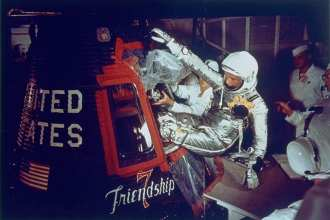 Astronaut John Glenn Jr.