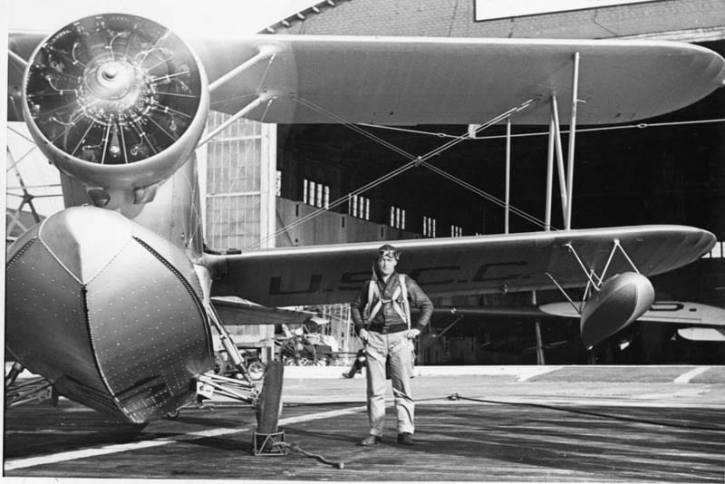 Lt. Richard L. Burke aviation