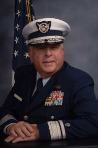 National Commodore James E. Vass, U.S. Coast guard Auxiliary.