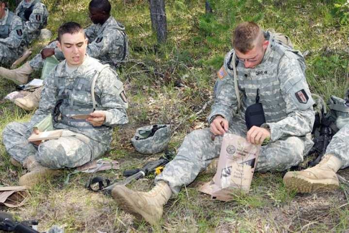 Soldier Meal, Ready-to-Eat MRE Evaluation