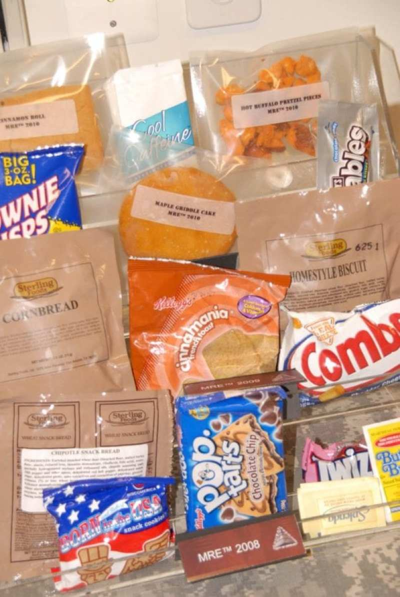 Name-brand Products in Meals, Ready-to-Eat (MREs)