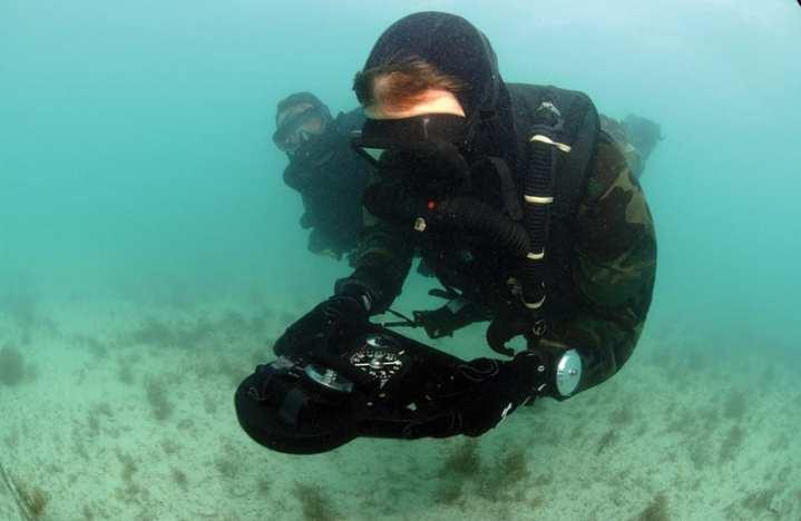 SEAL Combat Divers
