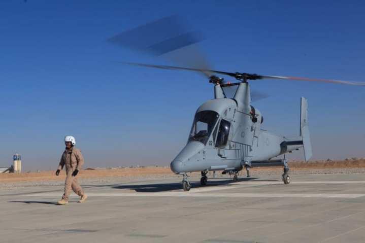 K-MAX USMC VUAV cargo