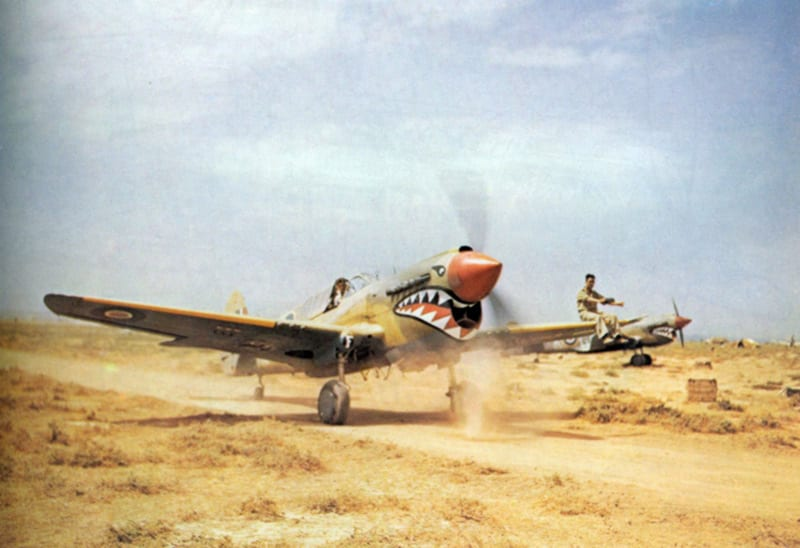 The P-40 Warhawk Looked Great, But Fell Just Short of ...