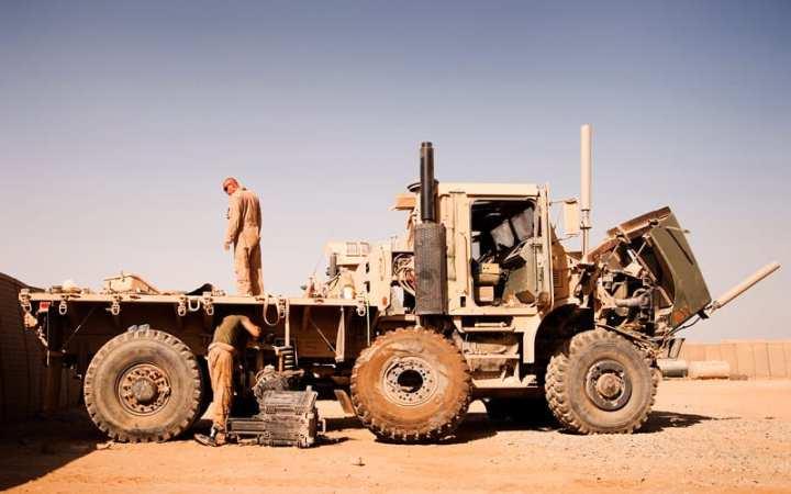 USMC Repair MTVR