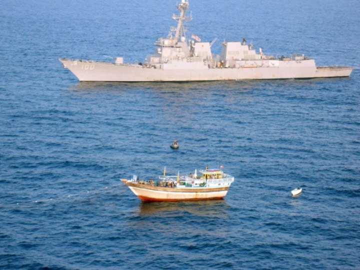 USS Kidd rescues Al Molai