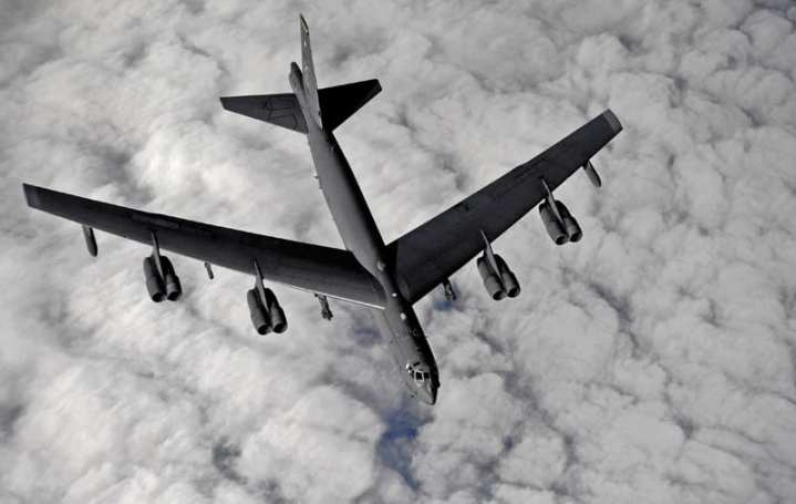 U.S. Air Force B-52 Stratofortress Refueling