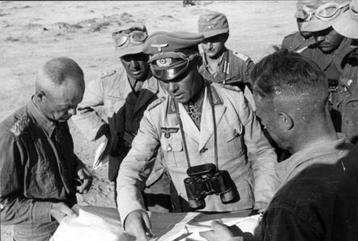 Lt. Gen. Erwin Rommel In North Africa
