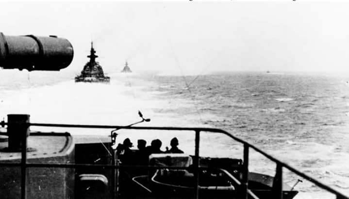 Scharnhorst and Gneisenau in the channel