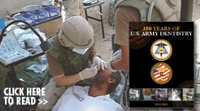 100 Years of U.S. Army Dentistry cover