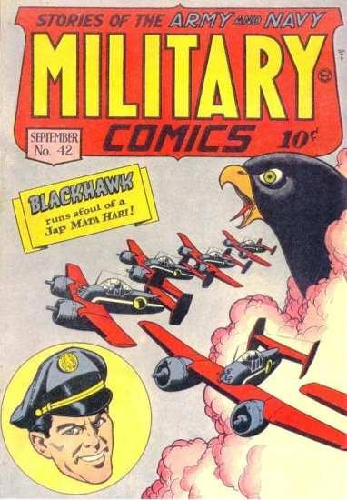 Military Comics Vol 1 #42