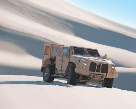 Oshkosh L-ATV dunes