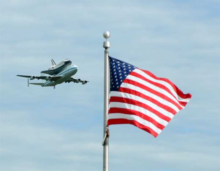 Shuttle747 DC arrival