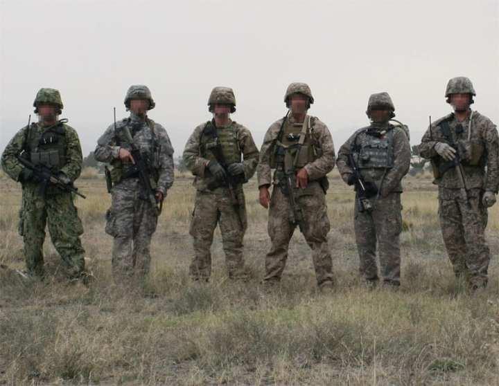 Camouflage testing
