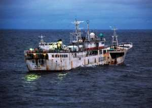 U.S. Coast Guard Illegal Fishing Patrol