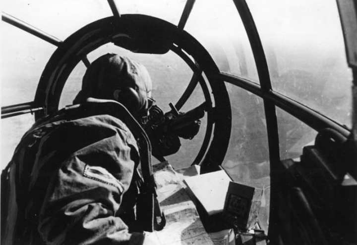 He 111 bombardier's view
