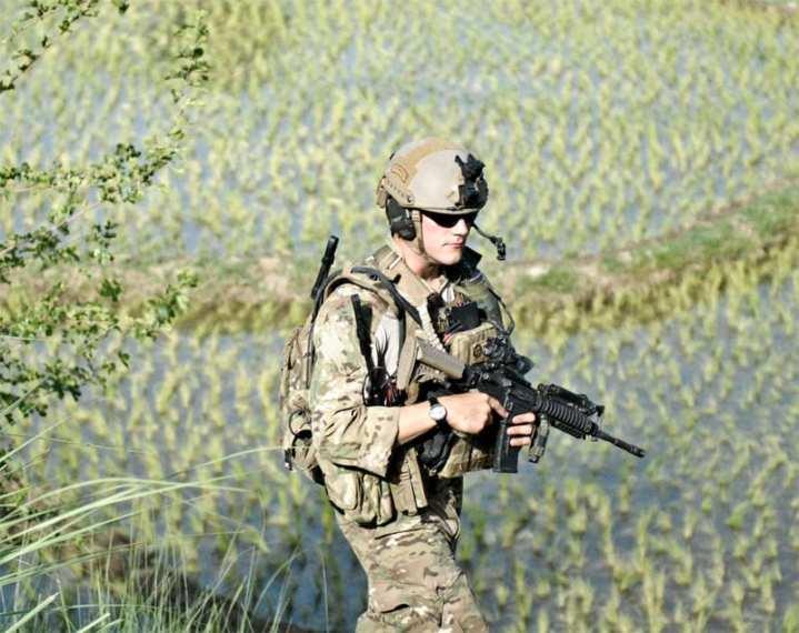 JTAC patrol Afghanistan