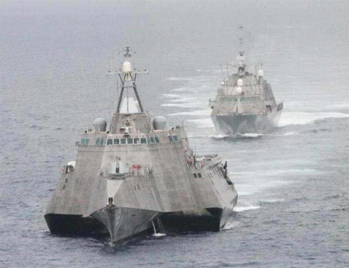 LCS 1 and 2
