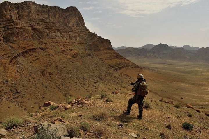Afghan Army Patrol
