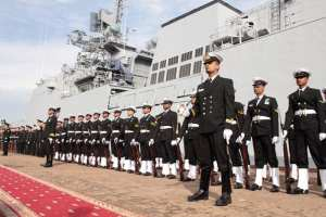 INS Teg Commissioning Ceremony