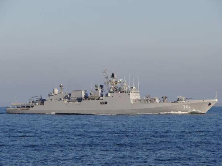 INS Teg On Sea Trials
