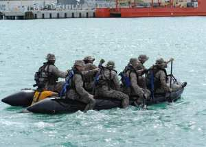 MARSOC Small Boat Training