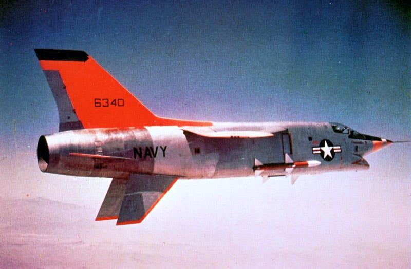 F8U-3 Crusader Was 'Really Hot' Might Have Been | Defense Media Network
