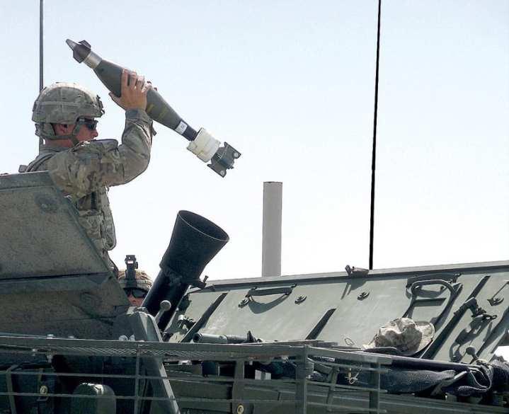 120 mm APMI Stryker MCVV