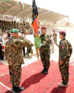 Afghan Special Operations Ceremony